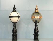 Cast iron Lighting, Outdoor Lighting, Street Furniture, Public Lighting, Municipal lighting, bollards
